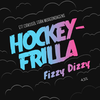 Morgondagens - Hockeyfrilla Fizzy Dizzy Candy Weisse 4.5% 330 can