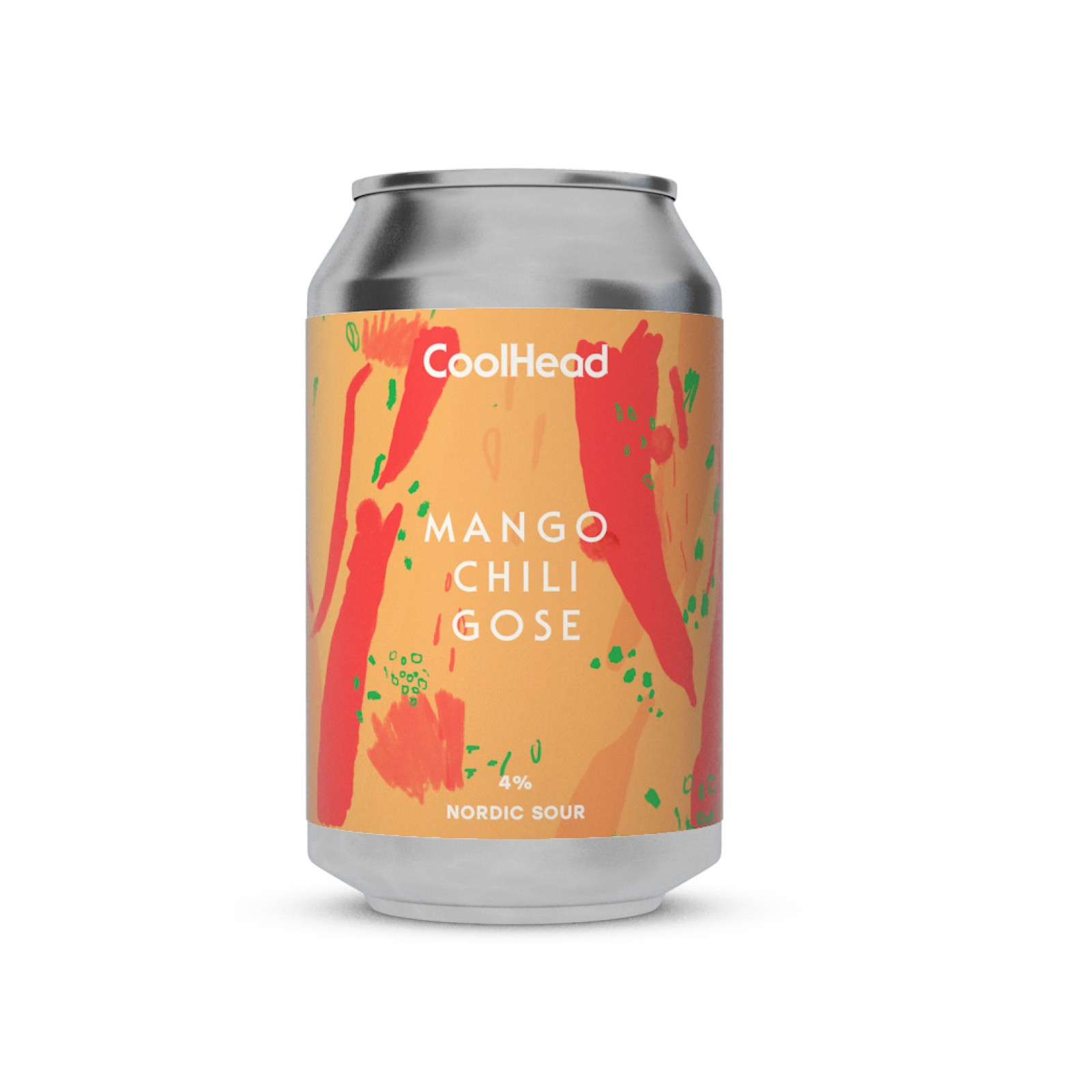 Cool Head - Chili Mango Gose Nordic Sour 5% 330 can