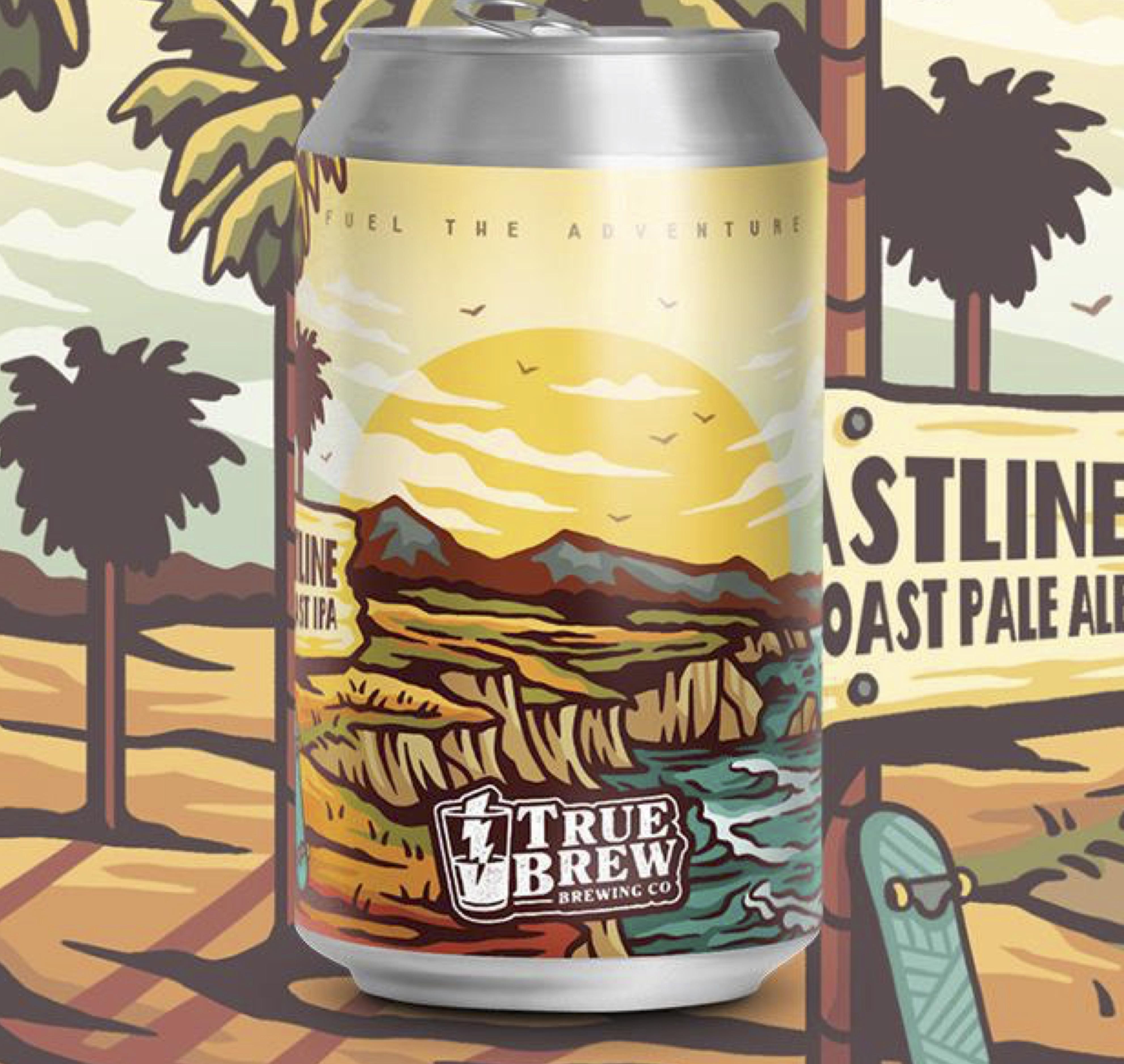 True Brew - Coastline West Coast Paleale 5.3% 330 can