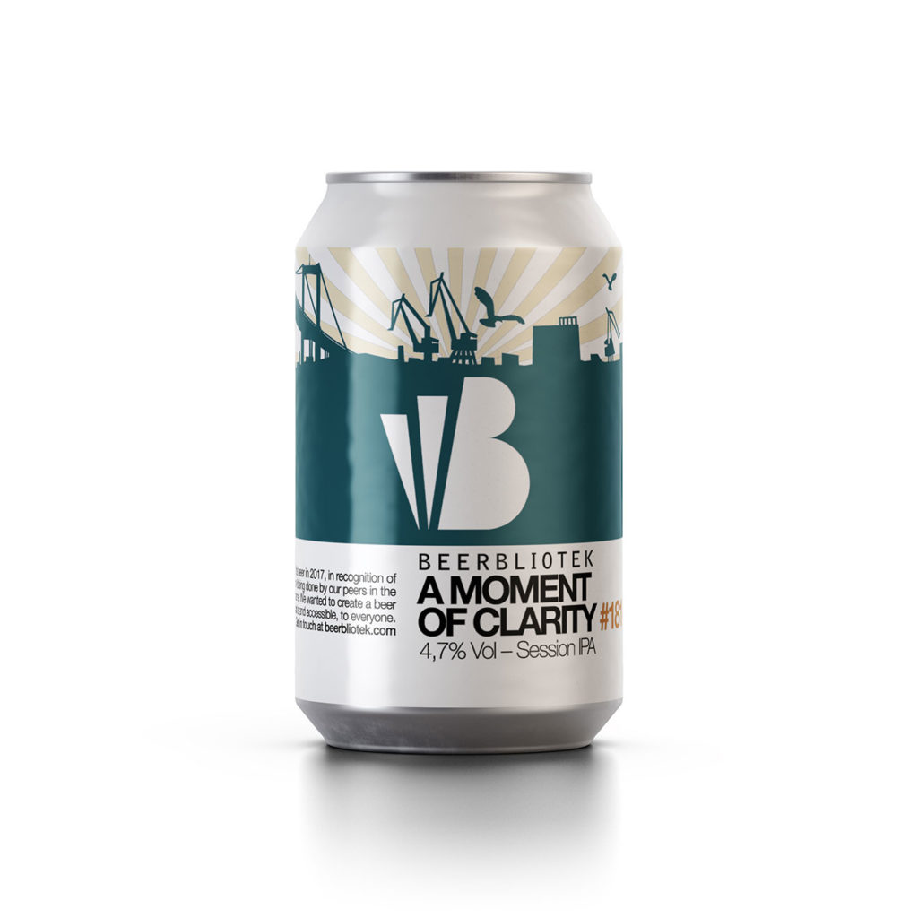 Beerbliotek - A Moment Of Clarity Session IPA 4.7% 330 can