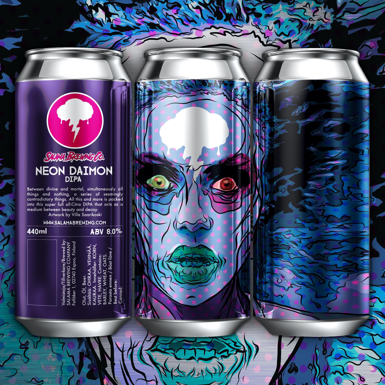 Neon Daimon New England DIPA 8.0% 440 can