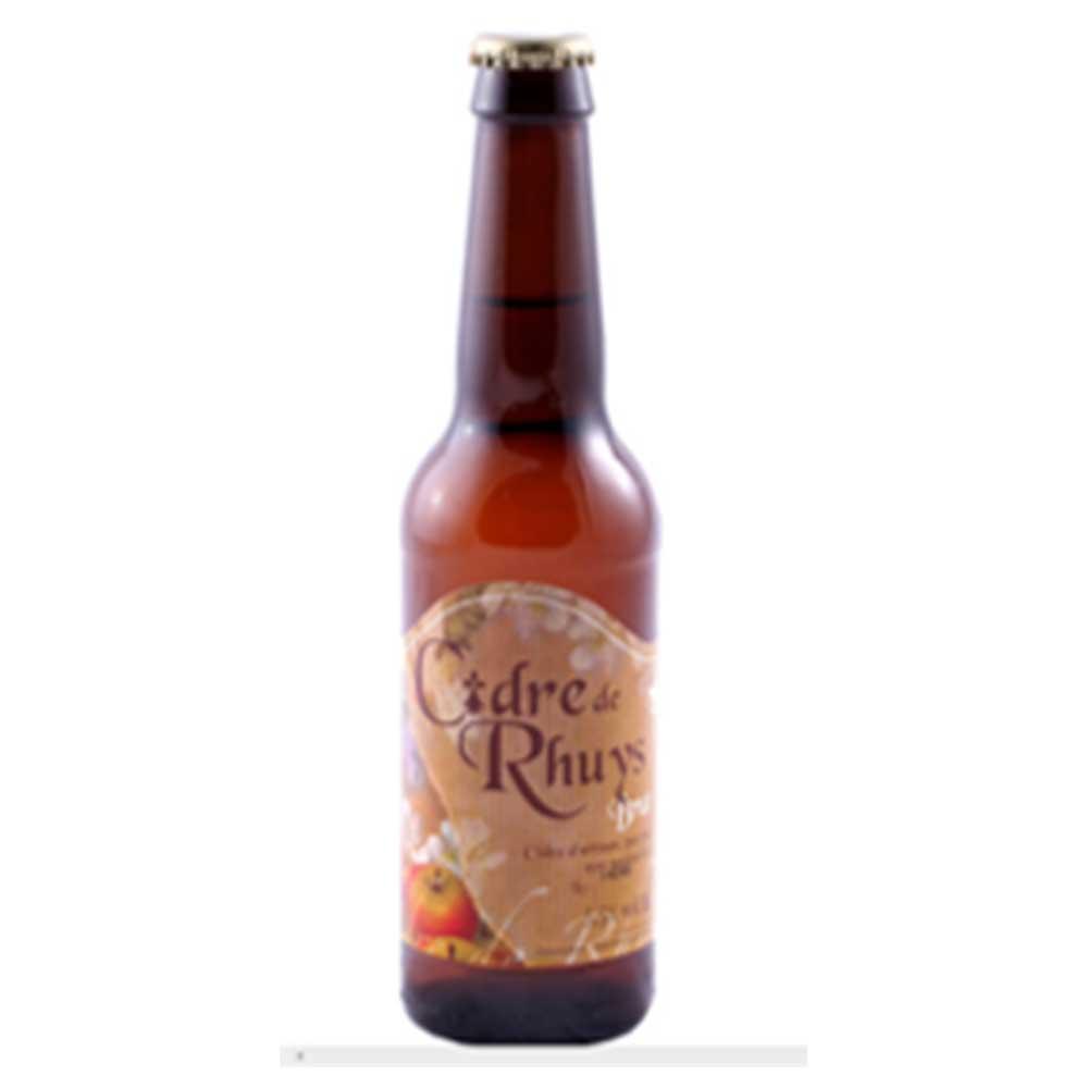 Cidrerie De Rhuys Nicol - Cidre De Rhuys Nicol Brut Cider 5.5% 330 Bottle