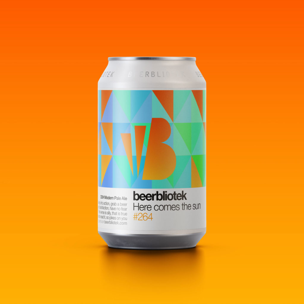 Beerbliotek - Here Comes The Sun NEPA 4.8% 330 can