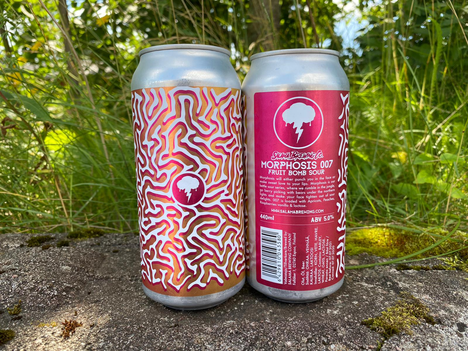Morphosis 007 Fruit Bomb Sour 5.0% 440 Can