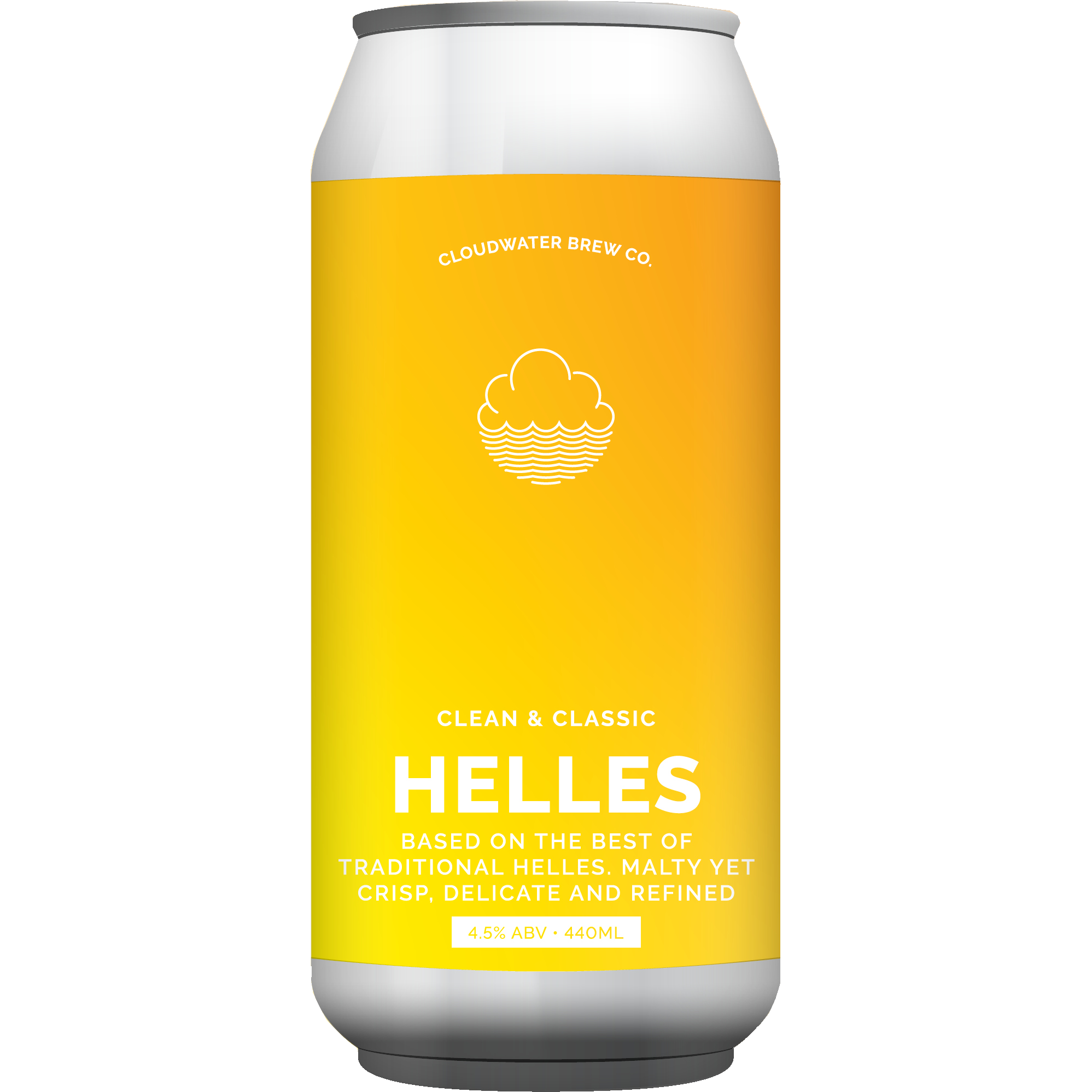 Cloudwater - Helles 4.5% 440 can