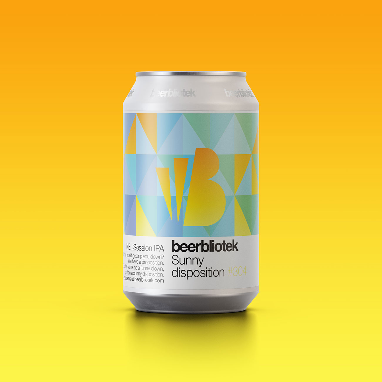 Beerbliotek - Sunny Disposition Session IPA 5.2% 330 can
