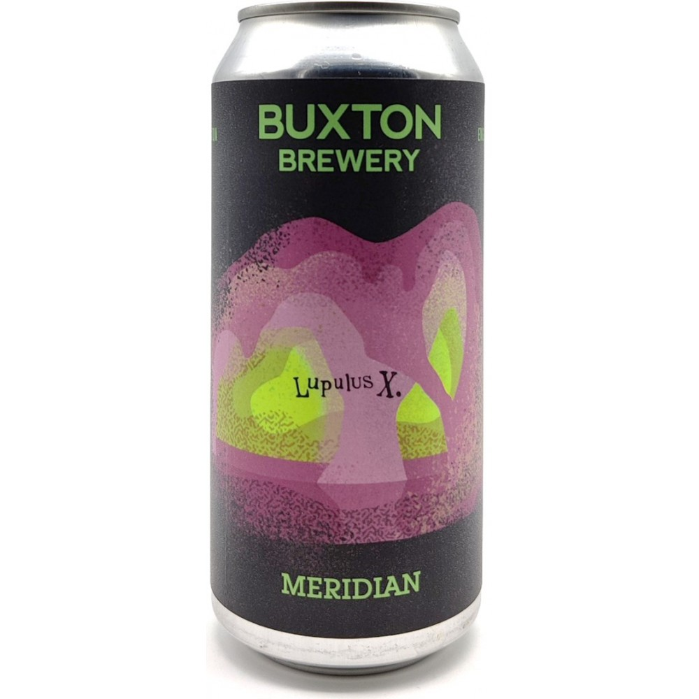 Buxton - LupulusX Meridian Pale Ale 5.4% 440 can
