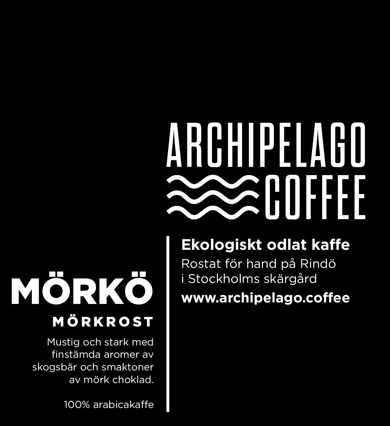 Mörkö kaffe