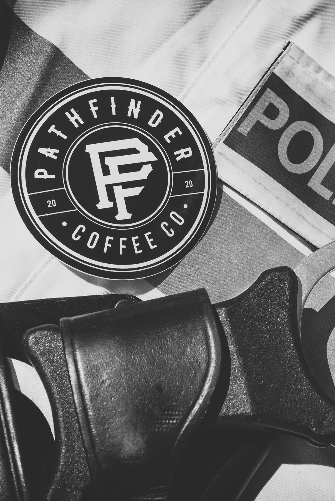 Pathfinder Coffee Sticker
