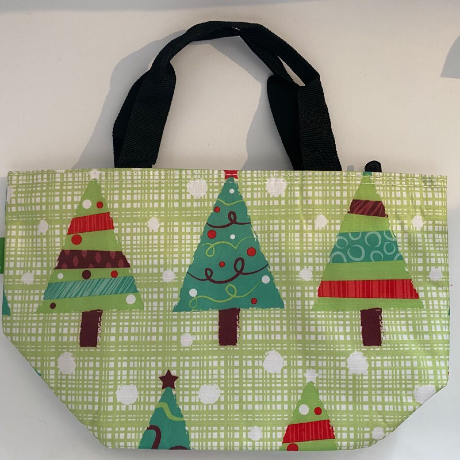 'Christmas Trees - Green' Lunch Bag