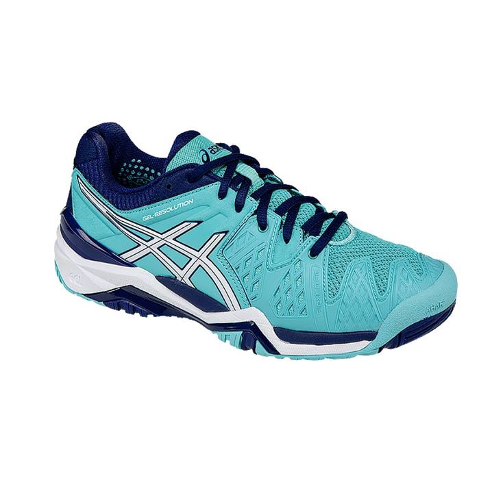 Asics Gel-Resolution 6 Women Pool Blue [Tennis/Allcourt]