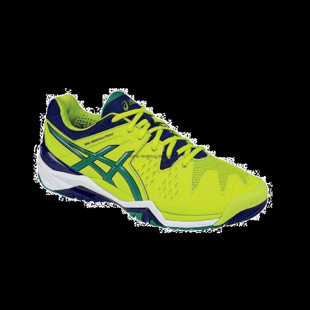 Asics Gel-Resolution 6 Lime/Pine/Indigo [Tennis/Allcourt]