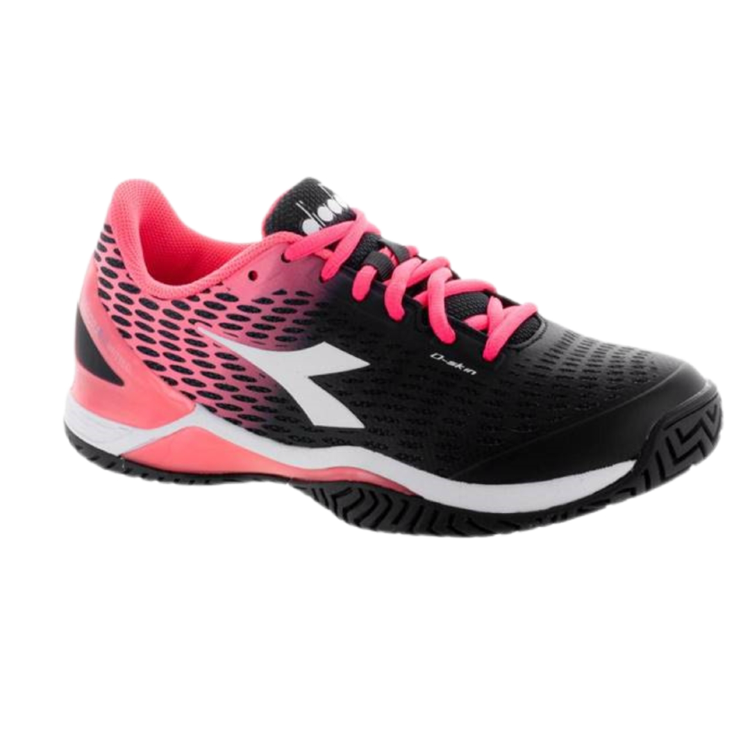 Diadora Speed Blushield 2 Black/Fluo Coral [Tennis/Allcourt]