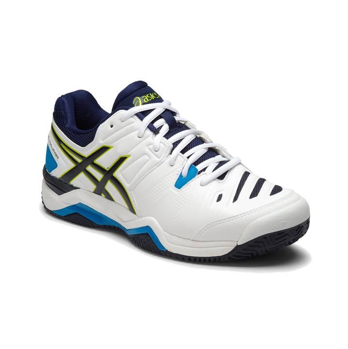 Asics Gel-Challenger 10 White/Lime/Indigo [Tennis/Allcourt]