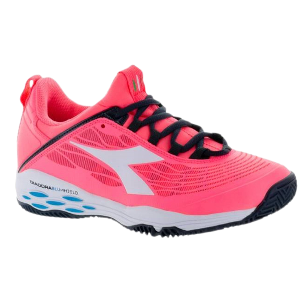 Diadora Speed Blushield Fly Fluo Coral/White [Tennis/Allcourt]