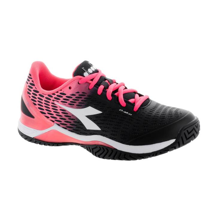 Diadora Speed Blushield 2 Black/Fluo Coral [Tennis/Allcourt]