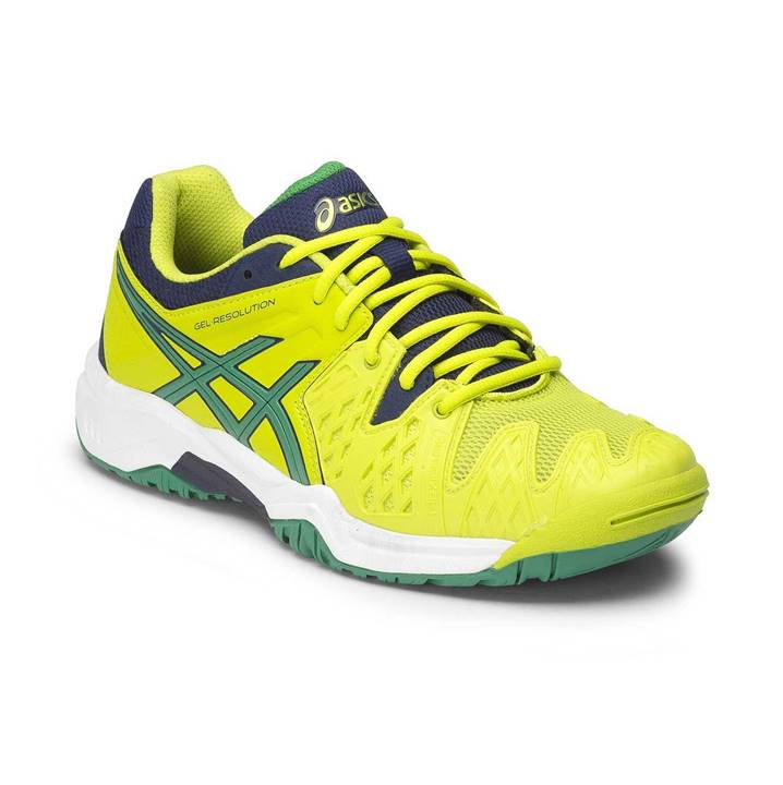 Asics Gel-Resolution 6 Lime (Strl. 33.5)