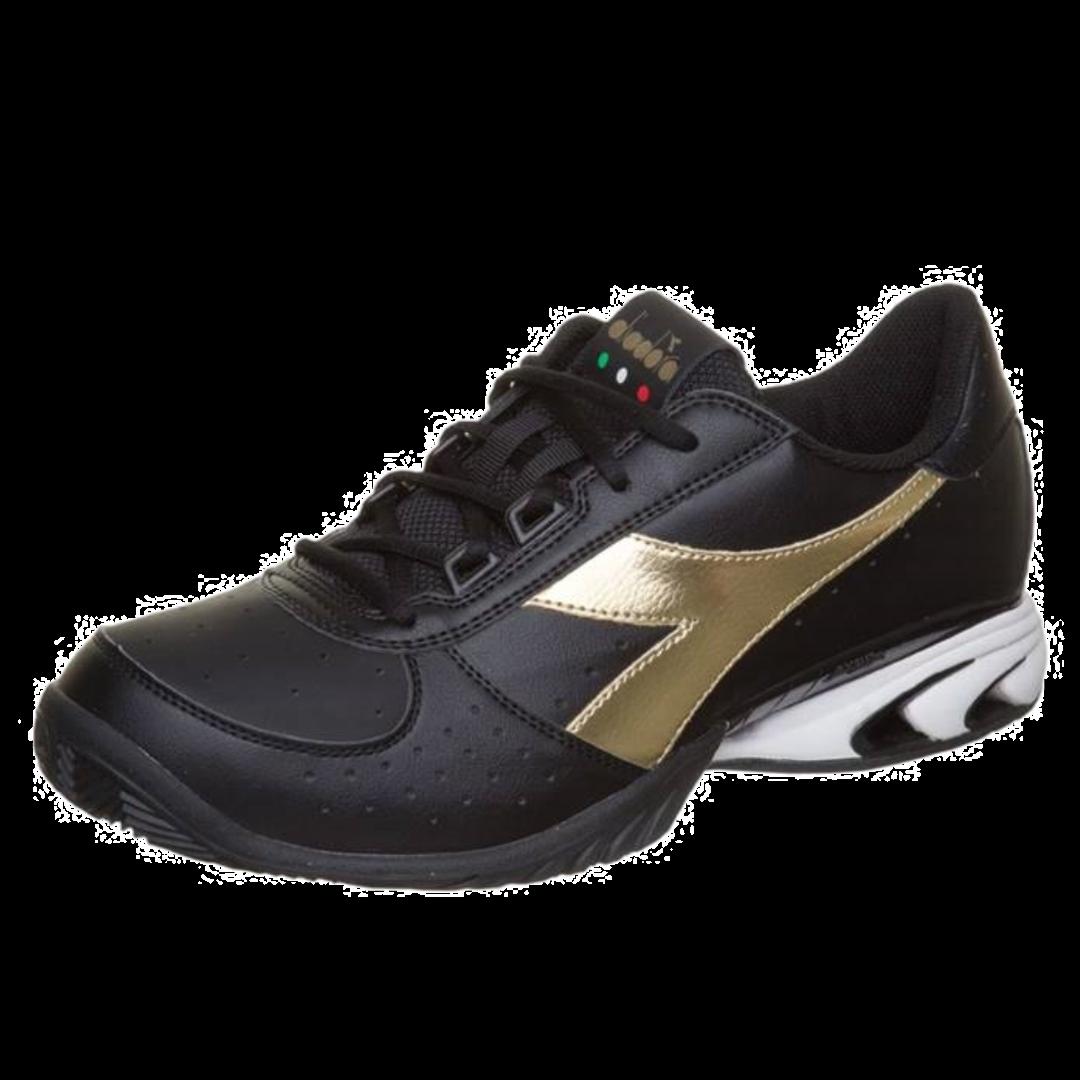 Diadora S. Star K Elite AG Black/Gold [Tennis/Allcourt]