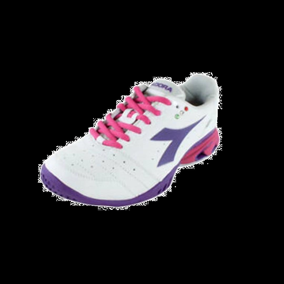 Diadora S. Star K W AG White/Violet [Tennis/Allcourt]