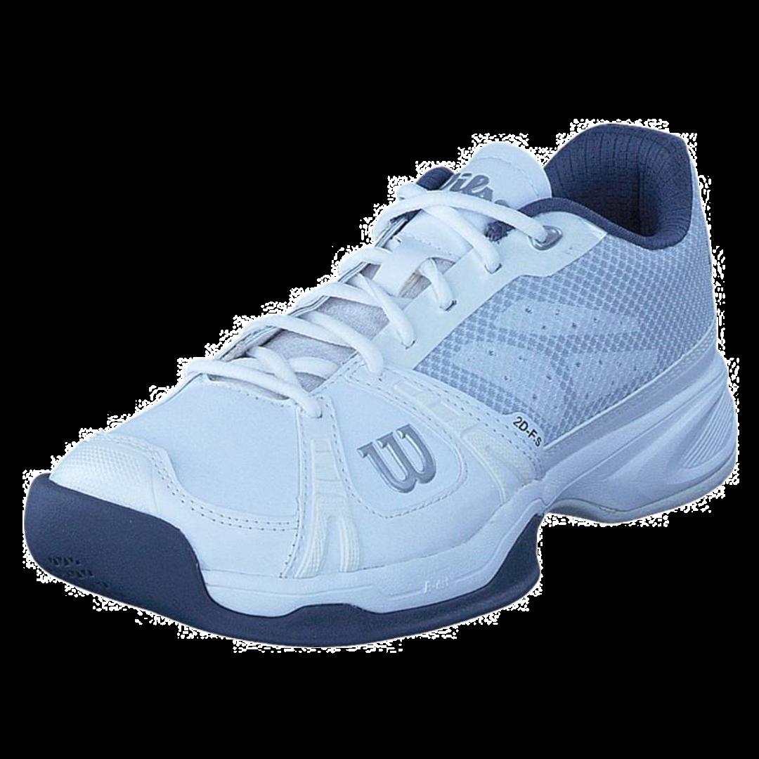 Wilson Rush HC White/Grey (Strl. 45 1/3) [Tennis/Hardcourt]
