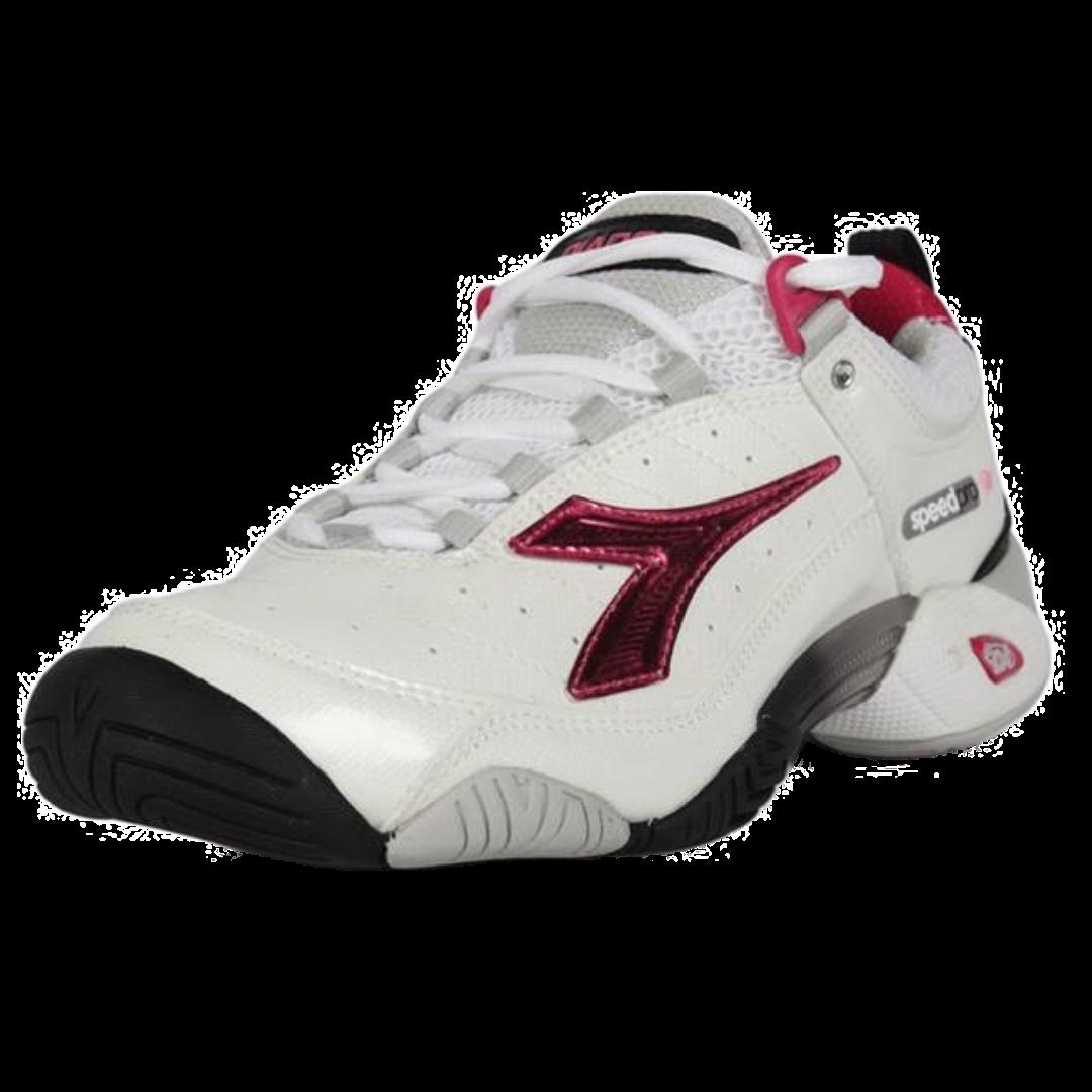 Diadora Speed Pro W AG Bianco/Rosa [Tennis/Allcourt]