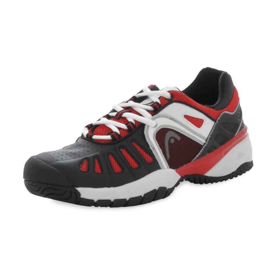 Head Mojo II Black/White/Red (Strl. 44.5) [Tennis/Allcourt]