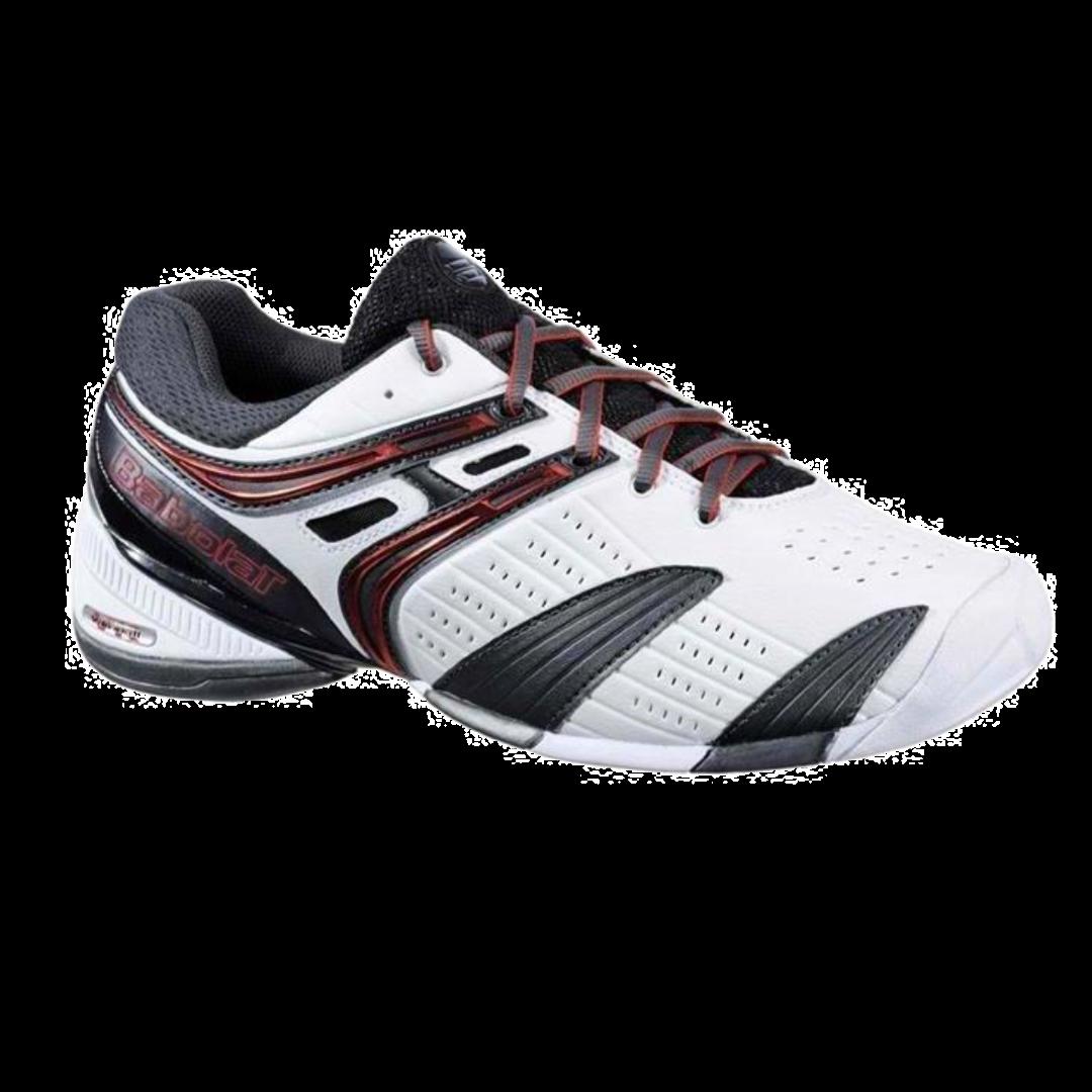 Babolat V-Pro All Court White Red (Strl. 45) [Tennis/Allcourt]