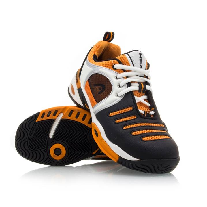 Head Mojo Junior White/Black/Orange (Strl. 36.5)