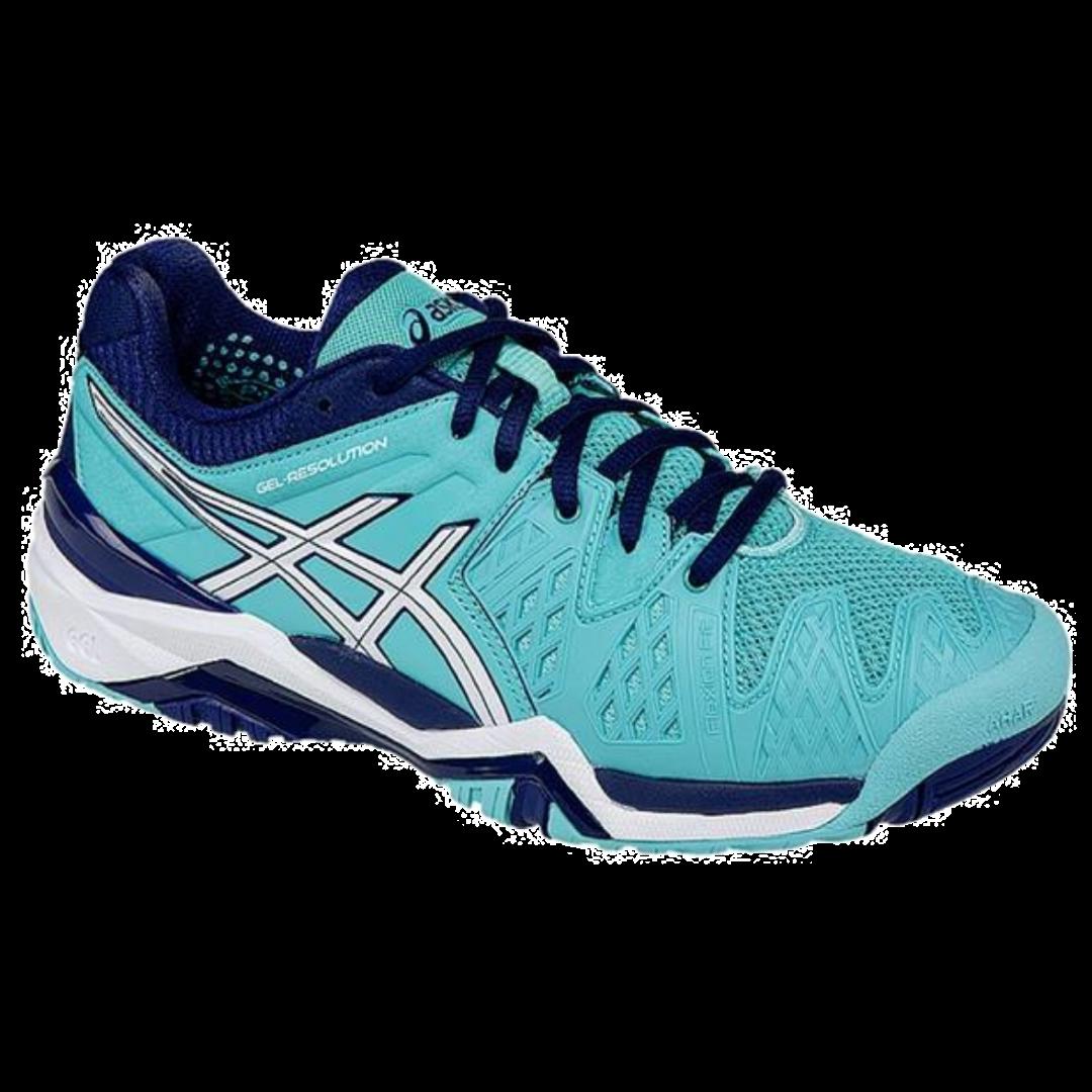 Asics Gel-Resolution 6 Women Pool Blue [Tennis/Allcourt]