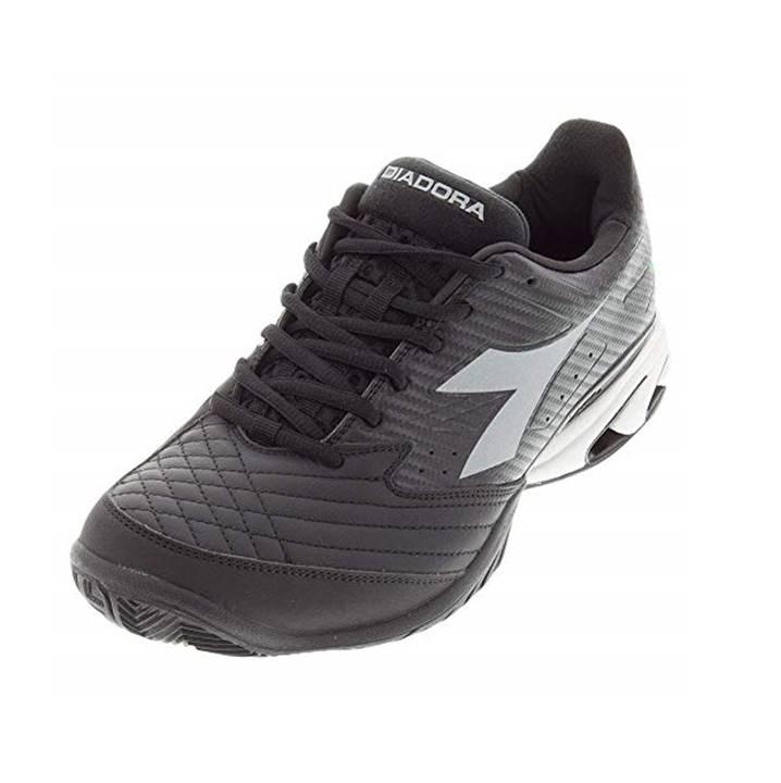 Diadora S. Star K VII AG Black/Silver [Tennis/Allcourt]