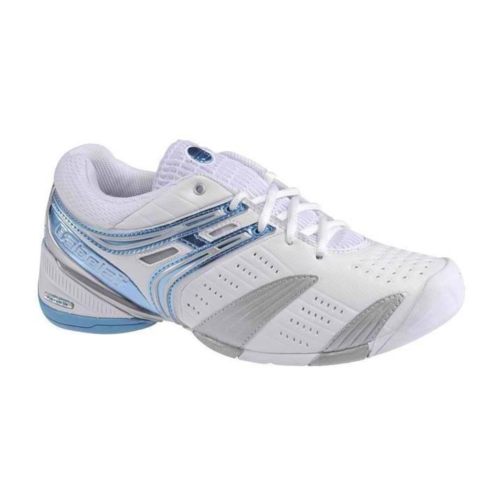Babolat V-Pro Lady White/Blue (Strl. 36) [Tennis/Allcourt]