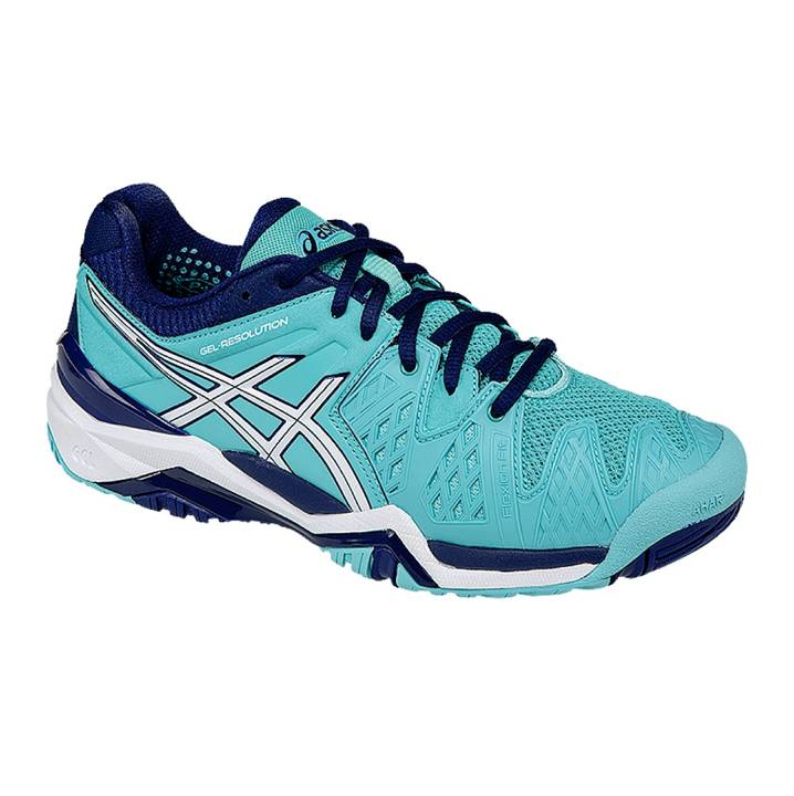 Asics Gel-Resolution 6 Pool Blue (Strl. 36)