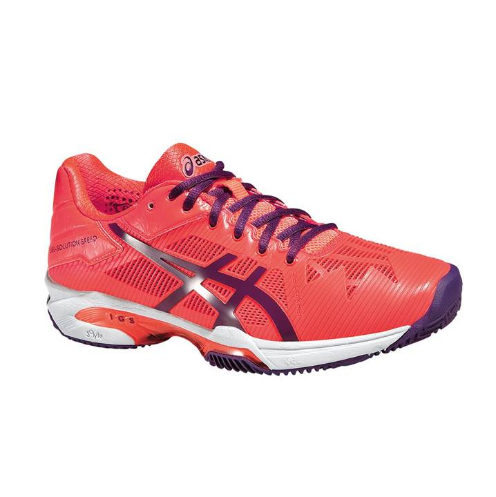 Asics Gel-Resolution Speed 3 Flash Coral [Tennis/Allcourt]