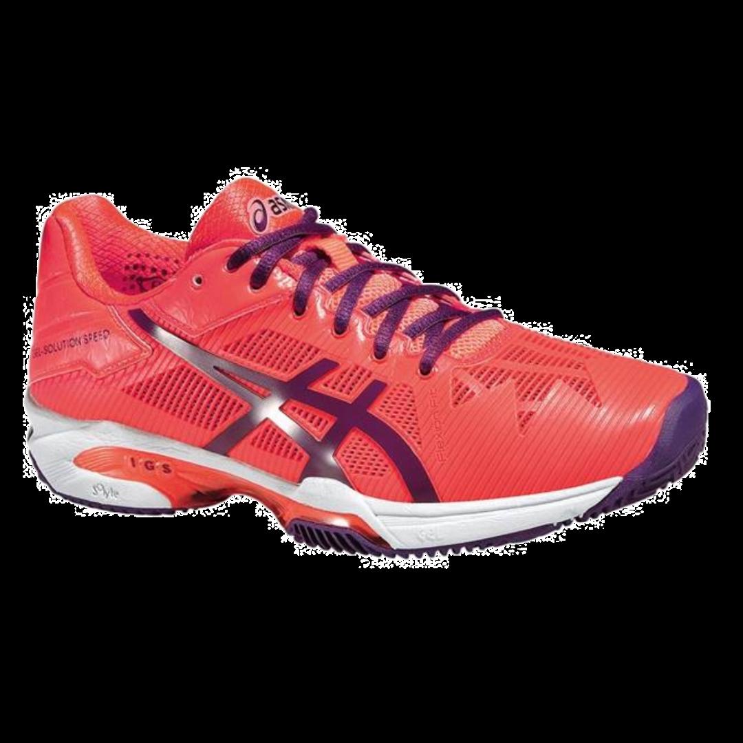 Asics Gel-Resolution Speed 3 Flash Coral [Tennis/Allcourt]