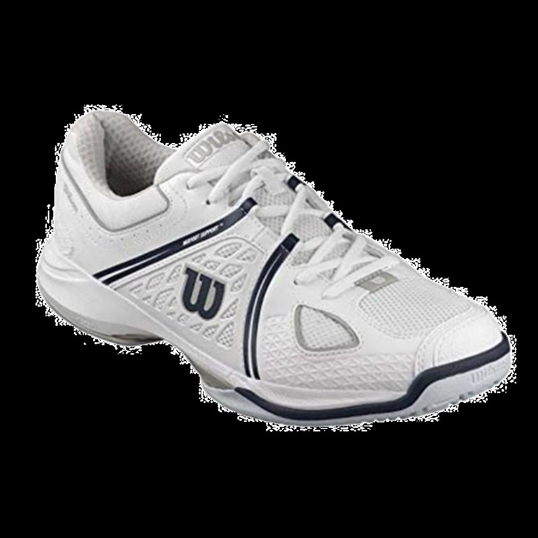 Wilson Nvision White/Grey/Coal (Strl. 46) [Tennis/Allcourt]