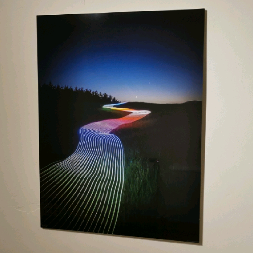 (Special Offer)'Follow the Rainbow', 80x60cm aluminium, 1/10, signed