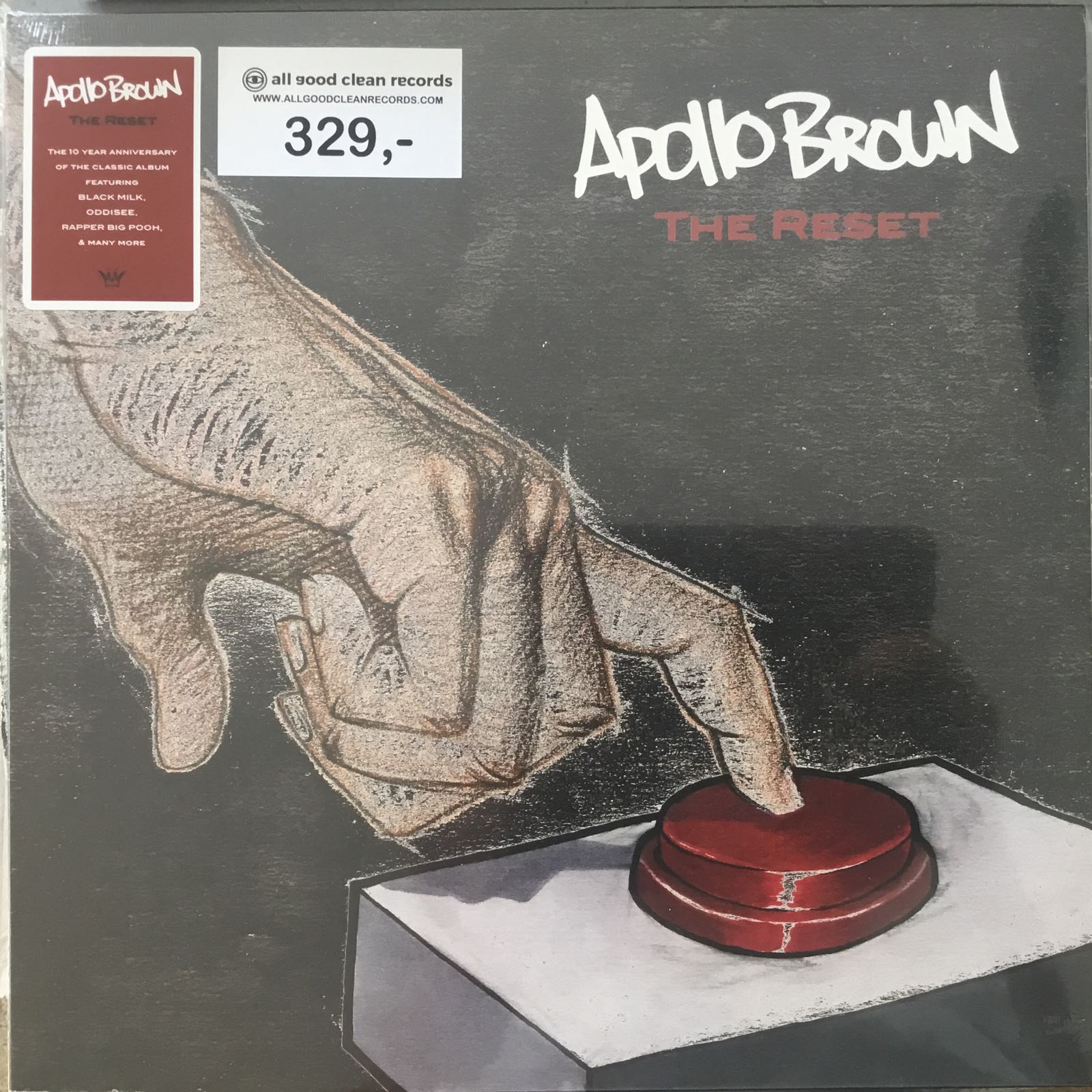 Apollo Brown - The Reset [LP]