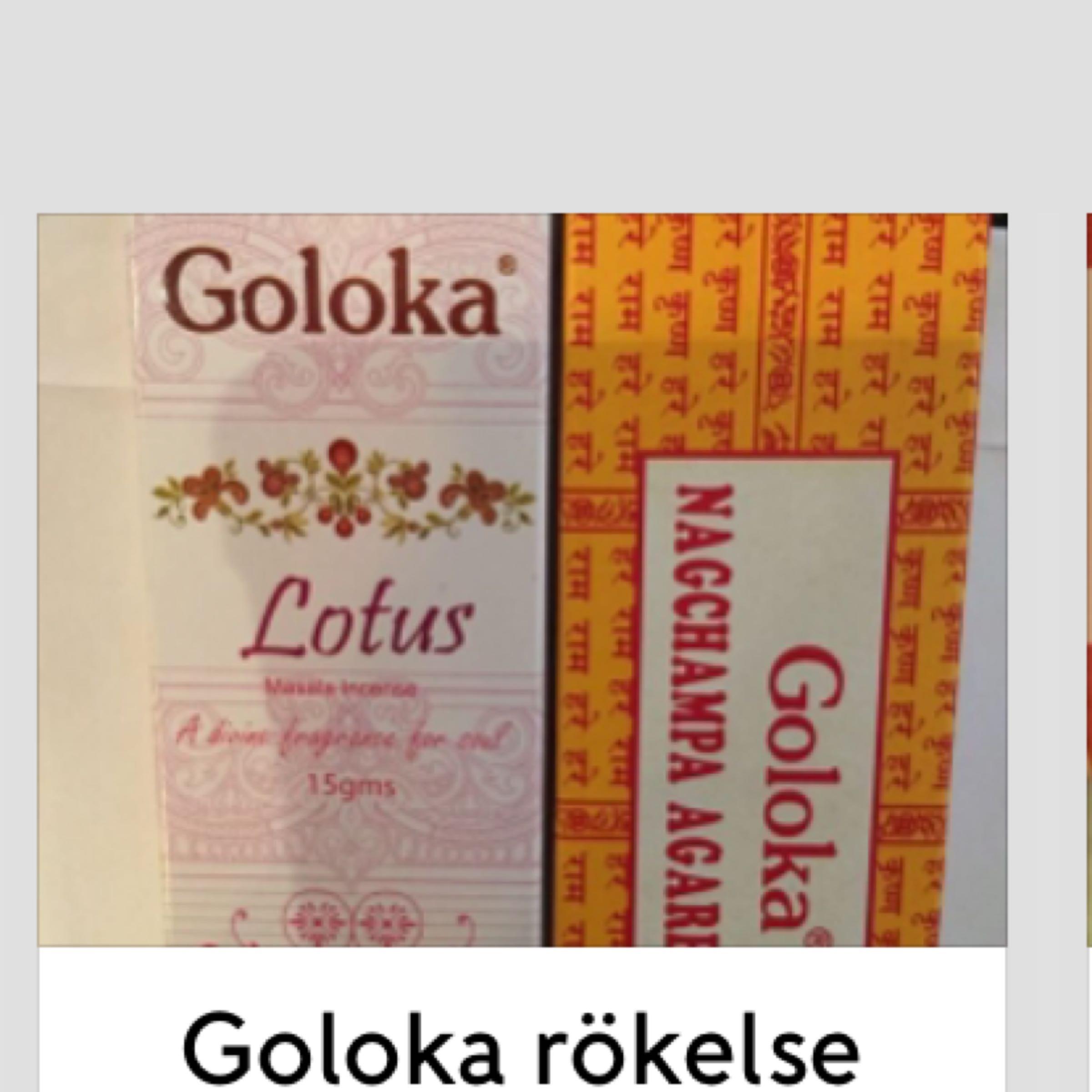 Rökelser Goloka