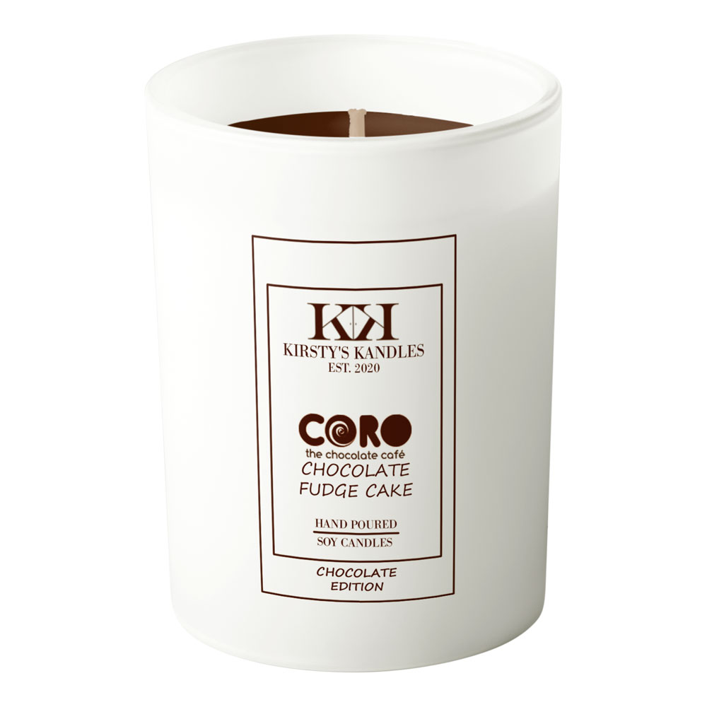 Chocolate Fudge Cake Scented Candle