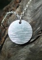 Driftwood Pendant Round 15mm