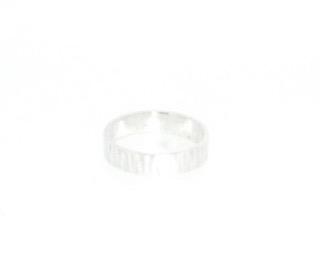 Driftwood Ec-silver Rings 5 x 1. 2mm