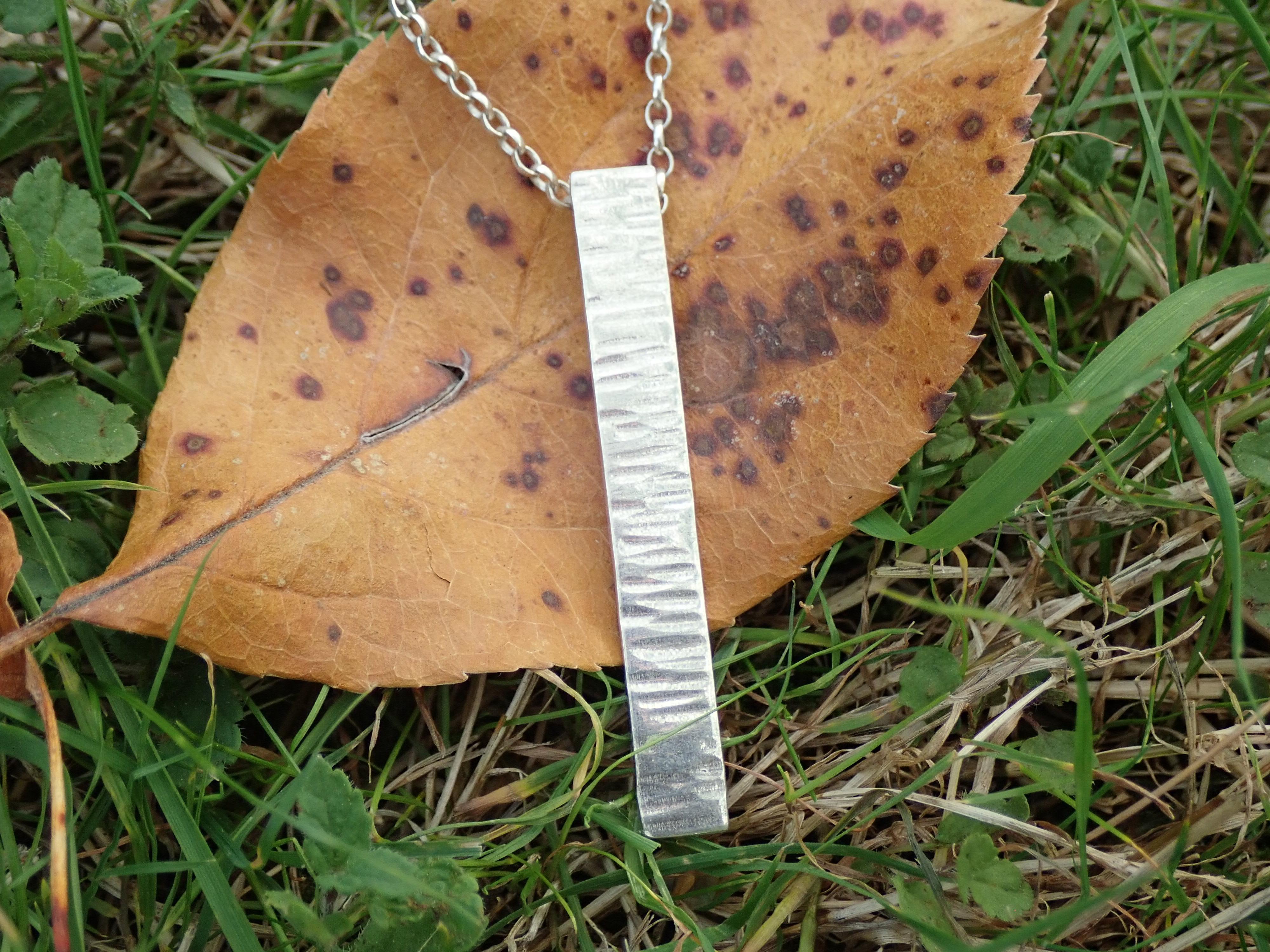 Driftwood Elongated Pendant