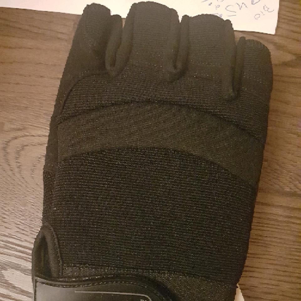 GFC handskar fingerlösa M
