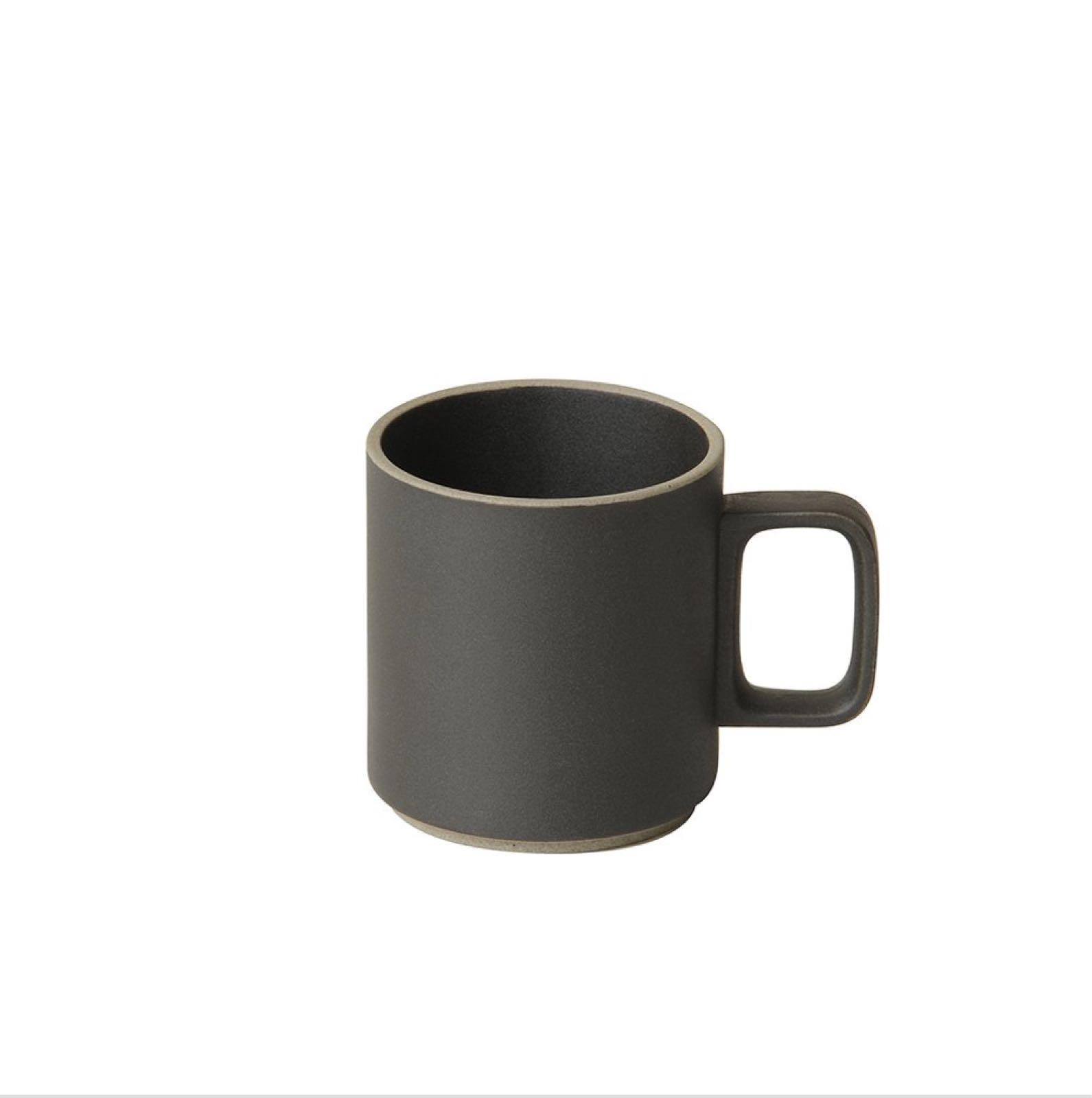 HPB020 Hasami Mug Cup medium black