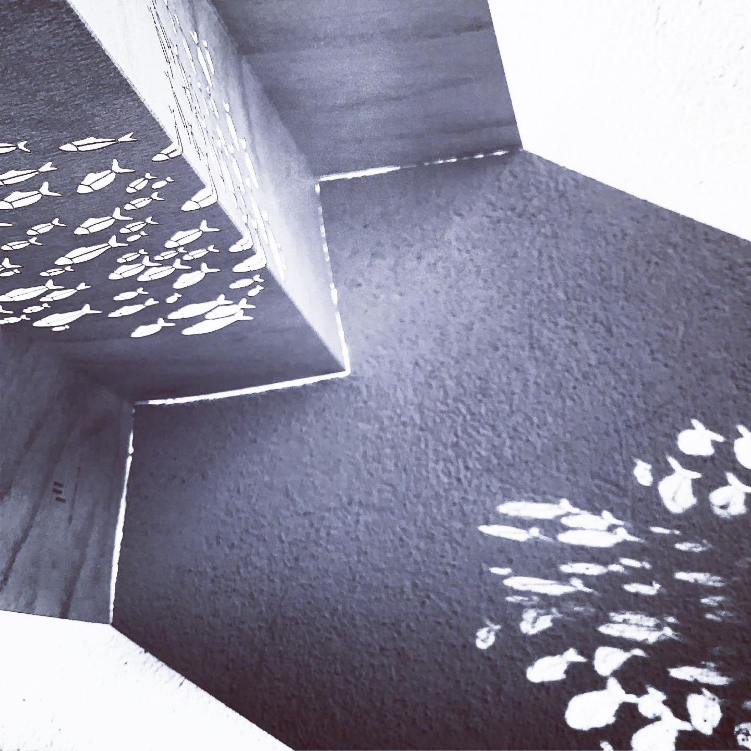 Paper Art 3D Kort –Fiskstim