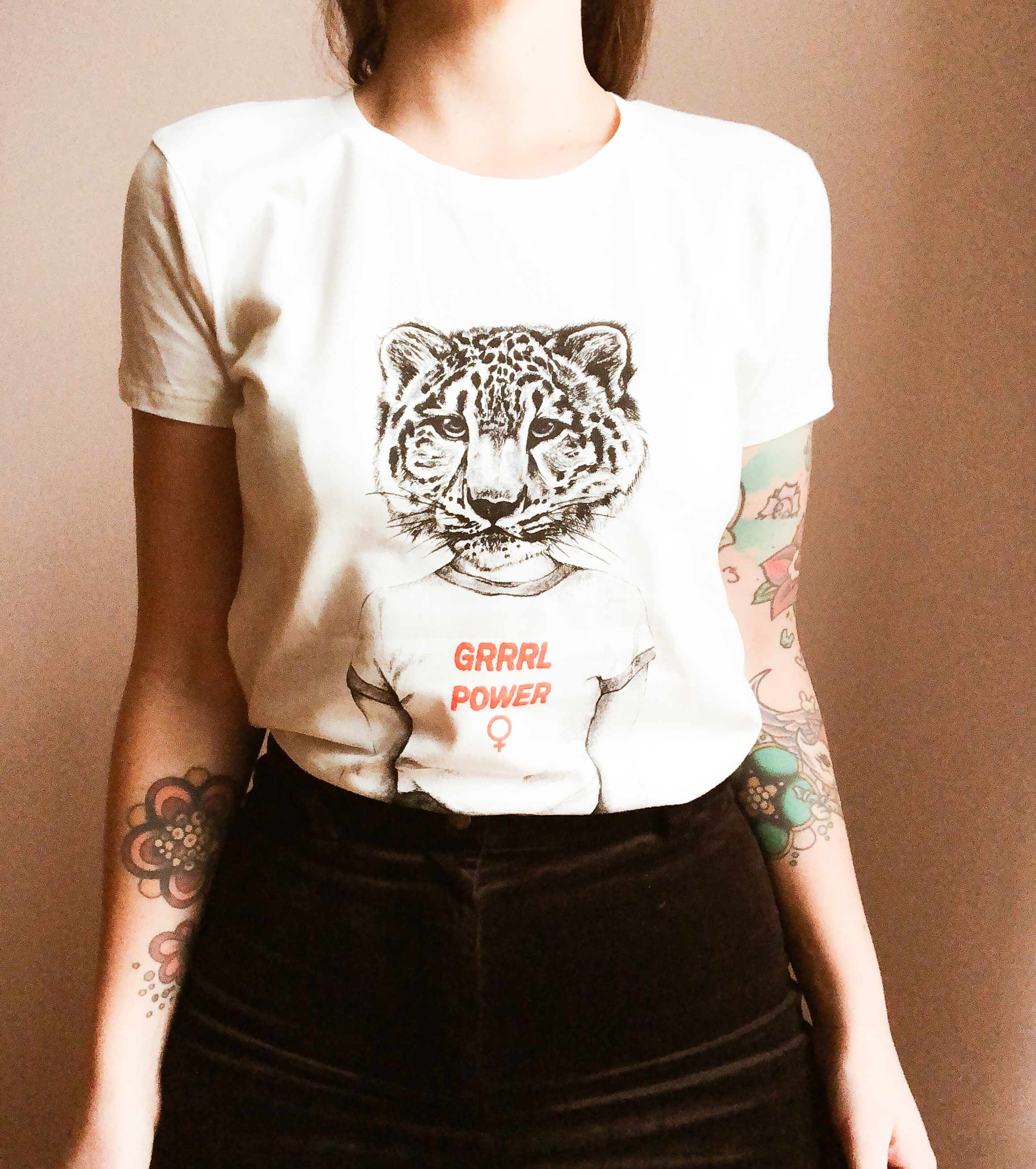 Girrrlpower t-shirt