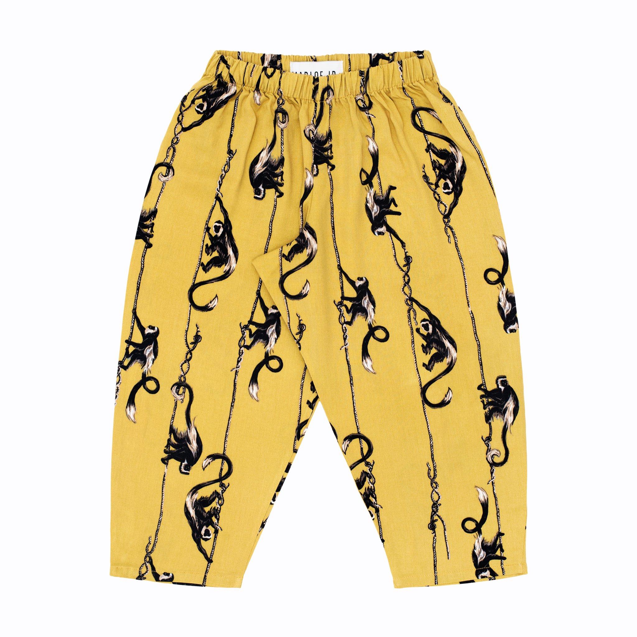 Rufus puffy pants mustard