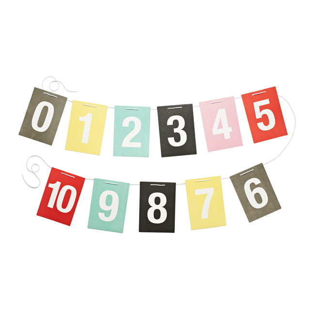 Cards on a string Numbers