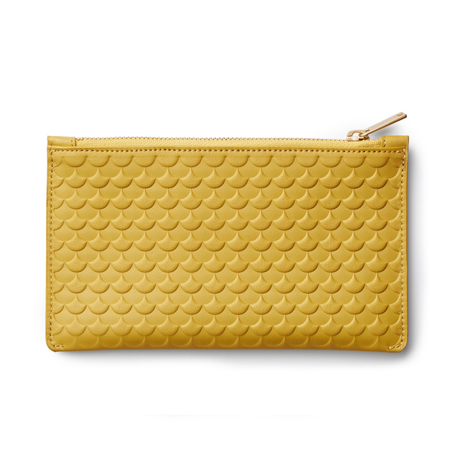Envelope Wallet mustard waves