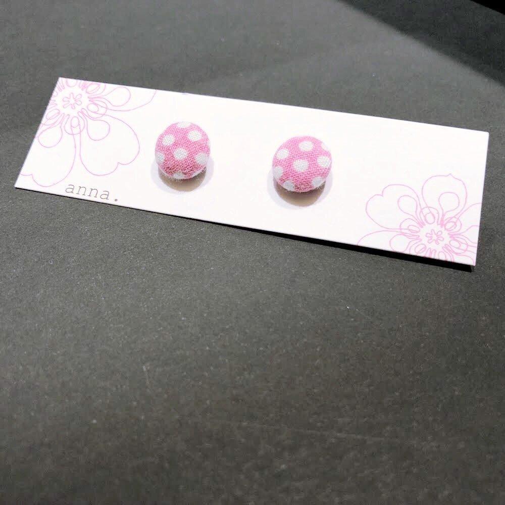 anna. earrings dots